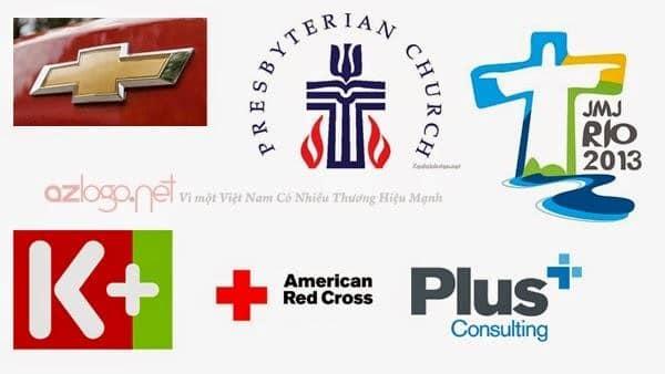 Thiết kế logo hình chữ thập